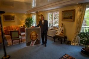 Ian Karan und sein Porträt