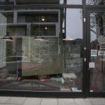 Das Schaufenster von draussen
