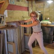 Lucile Travert, eine Malerin wie ich